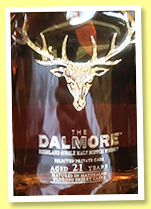 Dalmore 21 yo 'Matusalem Oloroso Sherry' (55.9%, OB, Private Cask, China)