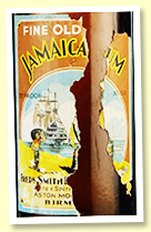 Fredrick Smith Fine Old Jamaica Rum (30 under proof, Aston Model Brewery, -/+ 1930s)