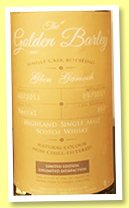 Glen Garioch 2011/2017 (45%, Whisky & Rhum, Golden Barley, barrel, cask #882)