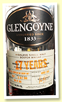 Glengoyne 17 yo 1998/2015 (54.8%, OB for Taiwan, cask #2047, 1st fill European oak sherry butt, 606 bottles)