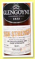 Glengoyne 'Cask Strength Batch 006' (59.8%, OB, 2018)