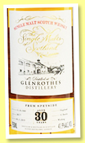 Glenrothes 30 yo 1989/ (41.9%, The Single Malts of Scotland, cask #18177, 92 bottles)