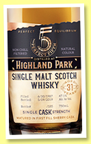Highland Park 31 yo 1987/2019 (47.1%, The Perfect Fifth, USA, sherry hogshead, cask #1531, 185 bottles)