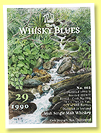 Irish Single Malt Whisky 29 yo 1990/2019 (49.3%, The Whisky Blues, Irish, barrel, cask #593, 100 bottles)