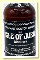 Isle Of Jura 14 yo 1964/1979 (80 proof / 45.7%, Cadenhead Dumpy)