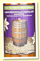 Labourdonnais 5 yo Batch 1 (49.8%, That Boutique-y Rum Company, Mauritius, PX cask, 1200 bottles)