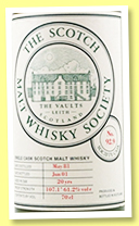 Lochside 20 yo 1981/2001 (61.2%, Scotch Malt Whisky Society, sherry butt, #92.9)