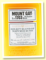 Mount Gay Select Blend 7 yo (54%, OB for The Whisky Exchange, Barbados, 2400 bottles, 2018)