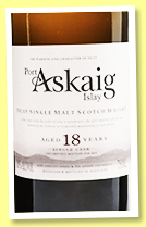 Port Askaig 18 yo (50.8%, Elixir Distillers, for USA, 2020)