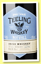 Teeling 'Batch 3' (46%, OB, Irish, 6000 bottles, 2019)