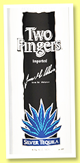 Two Fingers (40%, Tequila, white, +/-2016)