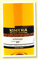 Uitvlugt 21 yo 1997/2019 (49.1%, Kintra Spirits Rum Collection, Guyana, cask #6, 113 bottles)