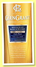 Glen Grant 'Rothes Chronicles - Cask Haven' (46%, OB, 1st fill bourbon and sherry, travel retail, +/-2019)