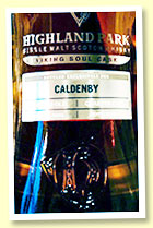 Highland Park 13 1/2 yo (55.2%, OB for Pär Caldenby, cask #700052, quarter cask, 151 bottles)