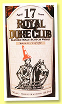 Royal Duke Club 17 yo 'Batch 01' (46.2%, Gleann Mor, Taiwan, blended malt, sherry, 498 bottles)