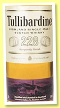 Tullibardine '228 Burgundy Finish' (43%, OB, +/-2019)