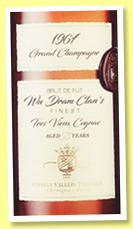 Vallein Tercinier 53 yo 1967/2020 (47%, OB, Grande Champagne, selected by Wu Dram Clan)