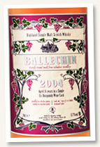 Ballechin 2005/2020 (60%, OB, for LMDW, Burgundy, cask #18)