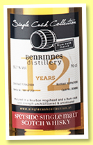Benrinnes 12 yo 2008/2020 (55.7%, Single Cask Collection, rum cask finish, cask #303890, 253 bottles)