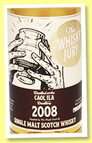 Caol Ila 2008/2020 (53.1%, The Whisky Jury, bourbon hogshead, cask #twj-Ci02, 280 bottles)