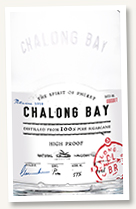 Chalong Bay 'High Proof Batch 0001' (57%, Thailand, 2020)