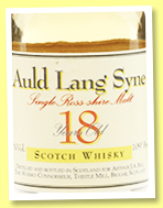 Dalmore 18 yo 1976 'Auld Lang Syne' (62.3%, The Whisky Connoisseur, 5cl, +/-1994)