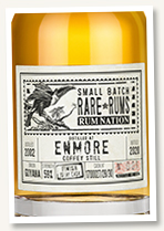 Enmore 2002/2020 (59%, Rum Nation, cask #1700027/28/30, Islay cask finish)