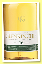 Glenkinchie 16 yo (50.6%, OB, Four Corners of Scotland Collection, 2502 bottles, 2020)