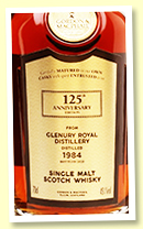 Glenury Royal 35 yo 1984/2020 (49.1%, Gordon & MacPhail '125th Anniversary', cask #2335, sherry butt, 397 bottles)