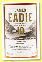 Linkwood 10 yo 2009/2020 (46%, James Eadie, recharred hogshead, casks #314374, 314377, 314381)