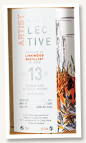 Linkwood 13 yo 2006/2020 (58.1%, La Maison du Whisky, Artist Collective, Sherry butt recask, 1398 bottles)
