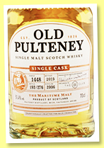 Old Pulteney 2006/2019 (51.4%, OB, The W Club Exclusive, cask #1448, 276 bottles)