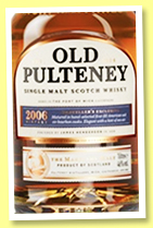 Old Pulteney 2006/2019 (46%, OB)