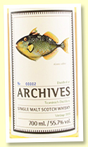 Teaninich 20 yo 1999/2019 (55.7%, Archives 'The Fishes of Samoa', cask #307938, hogshead 248 bottles)