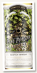 The Peat Monster 'Arcana' (46%, Compass Box, blended malt, 8328 bottles, 2020)