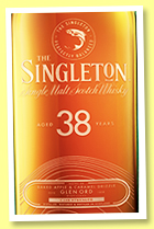The Singleton of Glen Ord 38 yo (49.6%, OB, Master's Casks, 1689 bottles, 2020)