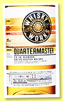Whisky Works Quartermaster 11 yo (46.4%, OB, Whyte & Mackay, blended Scotch, 2134 bottles, 2020)