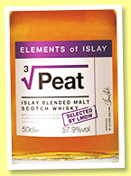 Peat Cubed (57.9%, Elements of Islay, for La Maison du Whisky, 2020)