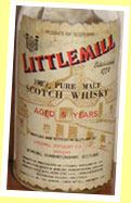 Littlemill 5yo (43%, OB for Aldo Zini, Italy, 70's)