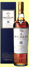 Macallan 18yo 1986 'sherry oak' (43%, OB, new presentation, 2004)