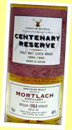 Mortlach 1984/1995 (40%, G&M Centenary Reserve)