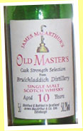 Bruichladdich 10yo (58.2%, James MacArthur Old Masters, mid-90's)