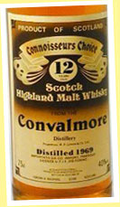 Convalmore 12yo 1969 (40%, G&M CC, Old Brown Label)