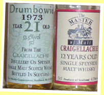 Craigellachie 12yo (43%, The Master of Malt, early 90's)