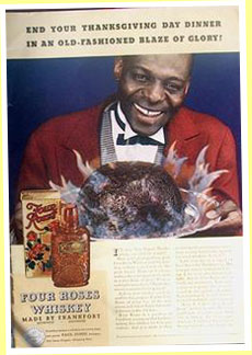 Four Roses 1938 ad