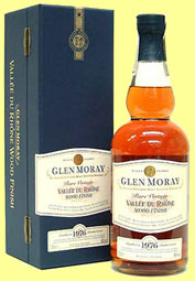 Glen Moray 1976/2002 'Vallée du Rhône Finish' (46%, OB)