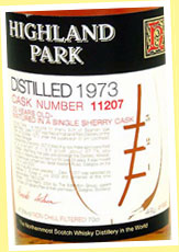 Highland Park 30yo 1973/2004 (47.8%, OB for Japan, sherry, cask #11207, 520 bottles)