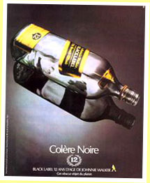 Johnnie Walker Black 1985 for France