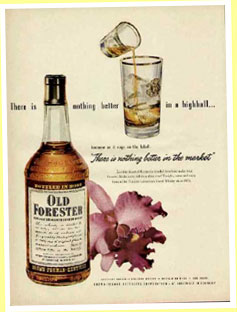 Old Forester ad