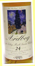 Ardbeg 24yo 1969/1993 (40%, G&M for Carato, Van Gogh Collection, sherry)